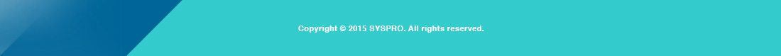 SYSPRO Footer